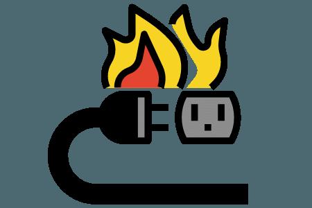Electrical Safety for children graphic attaboy